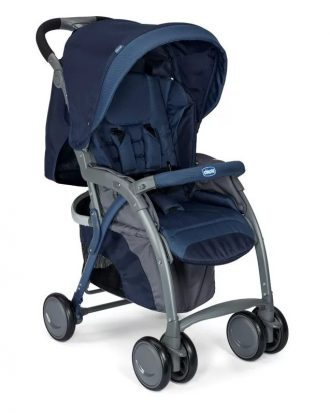 CHICCO SIMPLICITY PLUS TOP BABAKOCSI - BLUE PASSION